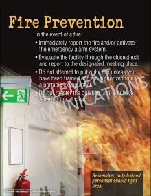 Fire Prevention-Escape Poster