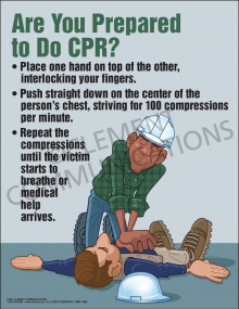 Prepared to Do CPR Poster