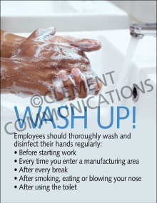 Wash Up! Poster