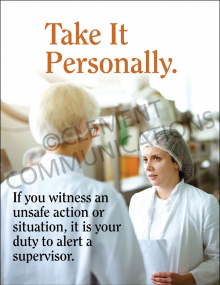 Take It Personally Poster