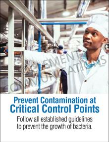 Prevent Contamination Poster