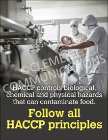 Follow HACCP Poster