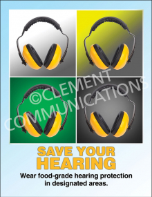 Save Hearing Poster