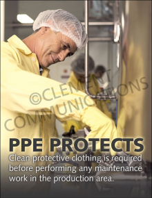 PPE Protects Poster