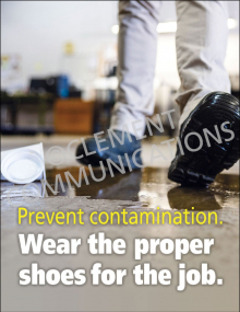 Wear Proper Shoes Poster