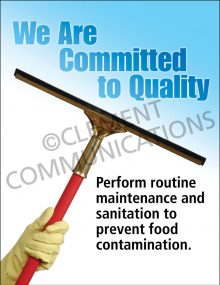 Committed to Quality Poster