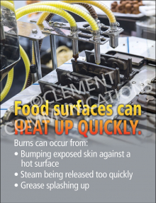 Food Surfaces Poster