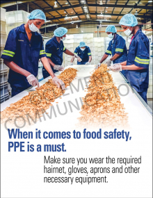 PPE is a Must Poster