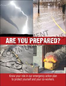 Are You Prepared Poster