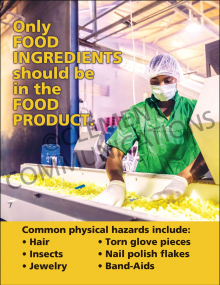 Only Food Ingredients Poster