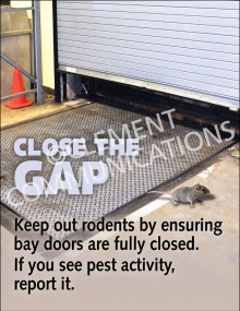 Close the Gap Poster