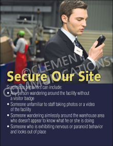 Secure Our Site Poster