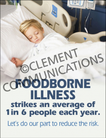 Food Safety - Foodborne Illness Poster