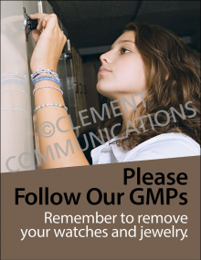 Food Safety - Follow GMPs Poster