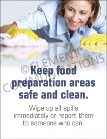 Preparation Areas Poster