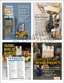 Warehouse Safety Focus Pack 2: Forklifts