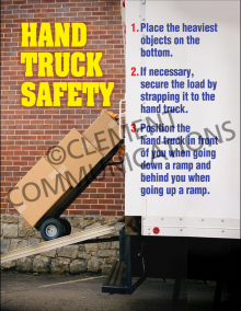 Hand Truck Safety Poster