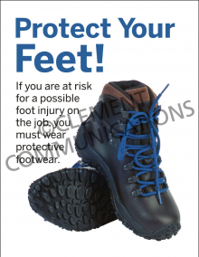 Protect Your Feet Poster