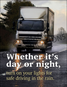 Whether It's Day Or Night Poster