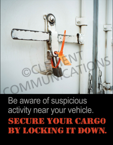 Secure Your Cargo Poster