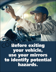 Before Exiting Your Vehicle Poster