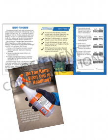 Chemical HazCom – Labels – Safety Pocket Guide with Quiz Card
