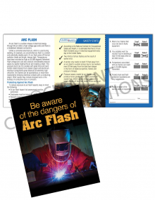 Electrical Safety – Arc Flash – Safety Pocket Guide with Quiz Card