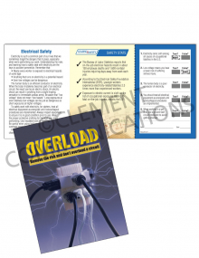 Electrical Safety – Overload – Safety Pocket Guide with Quiz Card