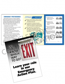 Emergency Preparedness – Learn Your Role – Safety Pocket Guide with Quiz