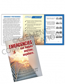 Emergency Preparedness – Anytime – Safety Pocket Guide with Quiz Card