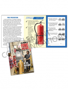 Fire Safety -Door Safety Pocket Guide with Quiz Card