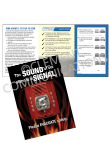 Fire Safety - Alarm Safety Pocket Guide with Quiz Card