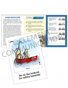 Hazard Identification - Lookout - Safety Pocket Guide with Quiz Card