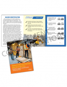 Hazard Identification - Starts With You - Safety Pocket Guide with Quiz Card