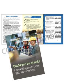 Hazard Identification - Risk – Safety Pocket Guide with Quiz Card