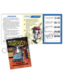Housekeeping - Practice – Safety Pocket Guide with Quiz Card