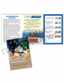 Housekeeping - Debris – Safety Pocket Guide with Quiz Card