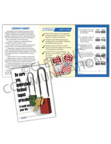 Lockout/Tagout - Understand Safety Pocket Guide with Quiz Card