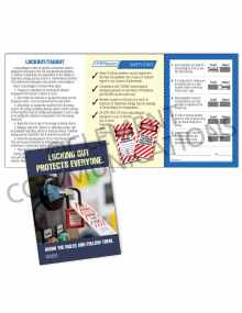Lockout/Tagout - Protect - Safety Pocket Guide with Quiz Card