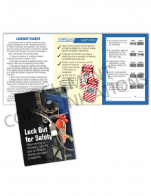 Lockout/Tagout - Safety - Safety Pocket Guide with Quiz Card