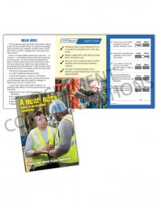 Near Miss - Today - Safety Pocket Guide with Quiz Card