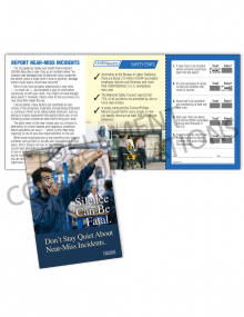 Near Miss – Silence – Safety Pocket Guide with Quiz Card