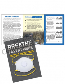 Respiratory Protection - Dust Mask Pocket Guide with Quiz Card