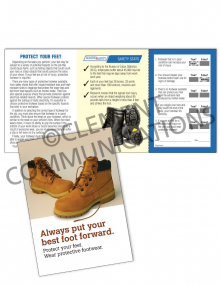 PPE – Footwear – Safety Pocket Guide with Quiz Card