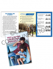 Safety Responsibility – Personal – Safety Pocket Guide with Quiz Card