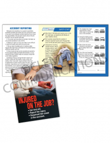 Accident Reporting - Injured - Safety Pocket Guide with Quiz Card