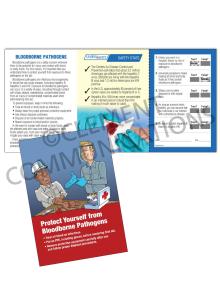 Bloodborne Pathogens – Hand – Safety Pocket Guide with Quiz Card