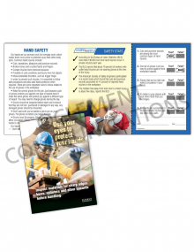Hand Protection - Inspect Safety Pocket Guide with Quiz Card
