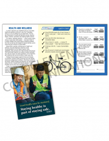 Health - Staying Safe - Safety Pocket Guide with Quiz Card