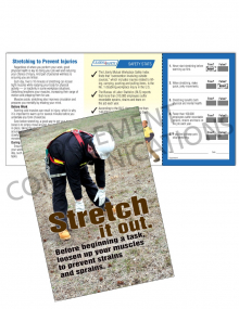 Health - Stretching – Safety Pocket Guide with Quiz Card